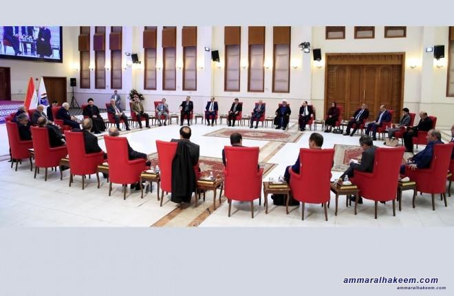 السيد عمار الحكيم يدعو دول المنطقة للحياد الايجابي بين التحالفات السياسية العراقية وتفهم طبيعتها الوطنية
