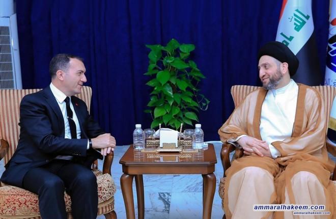 السيد عمار الحكيم يشدد على اهمية التوازن الاقتصادي في العراق