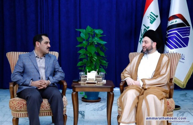 Sayyid Ammar al-Hakim: Industry in Iraq is suffering and needs to increase its financial allocations