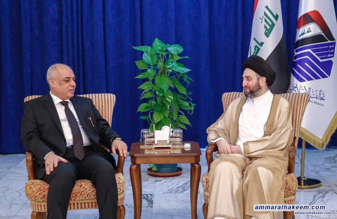 السيد عمار الحكيم يدعو لإنشاء مشاريع (المترو) في العراق والعمل على تنفيذ مشروع الربط الحديدي بين شمال العراق وجنوبه