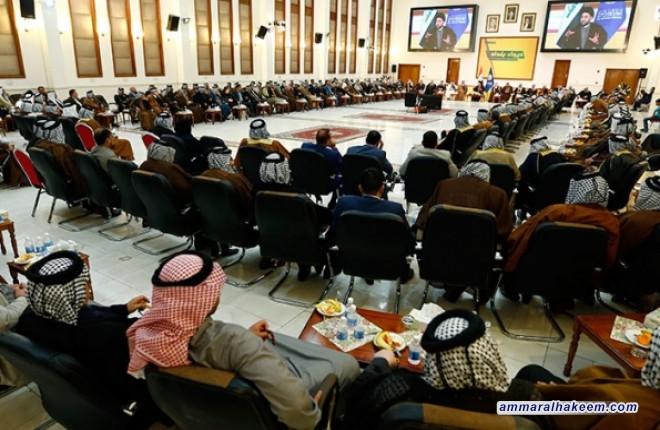 السيد عمار الحكيم يدعو لمواجهة التطرف الفكري والخطابي والسلوكي