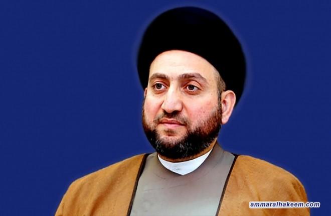 القائم باعمال السفار الفرنسية يهنئ السيد عمار الحكيم بالانتصارات المتلاحقة على داعش الارهابي