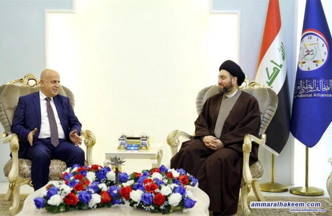 Sayyid Ammar al-Hakim stresses creating appropriate ground for dialogue between the federal government and the Kurdistan Regional Government