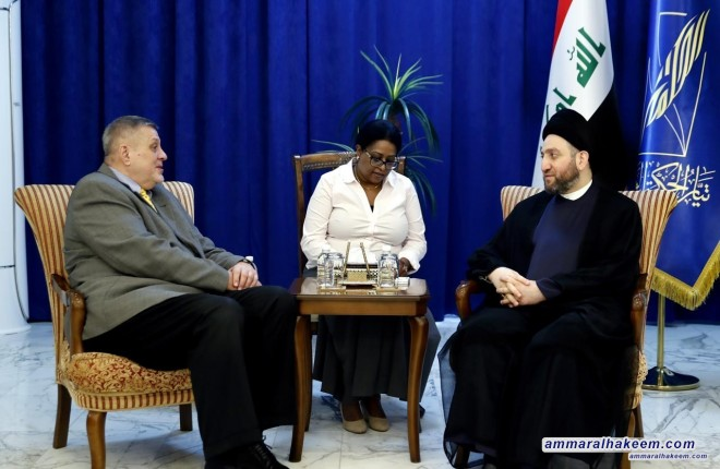 Sayyid Ammar al-Hakim Jan Kubis: The unilateral position of Washington against Tehran a dangerous precedent with unfortunate consequences for the international and humanitarian community