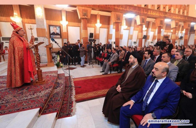Sayyid Ammar al-Hakim stresses coexistence and meeting for the love of Iraq