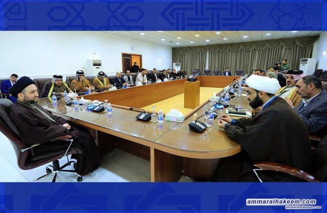 Sayyid Ammar al-Hakim calls to support the demands of Basra and a clear deadline for action