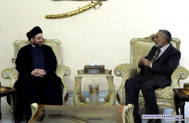 السيد عمار الحكيم يلتقي الدكتور محمود المشهداني ويبحث معه المشهد السياسي والمشهد الانتخابي القادم