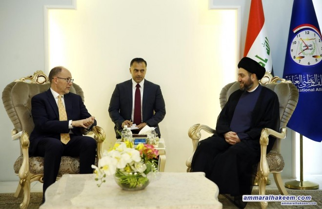 Sayyid Ammar al-Hakim stresses the importance of the national majority government composed of program synergized political blocs