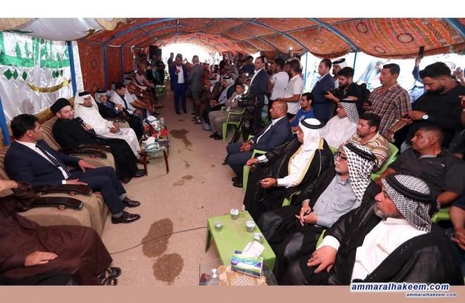 السيد عمار الحكيم : الوطنية تتطلب انتاج القرار العراقي وفق مصلحة ومتطلبات الوضع العراقي