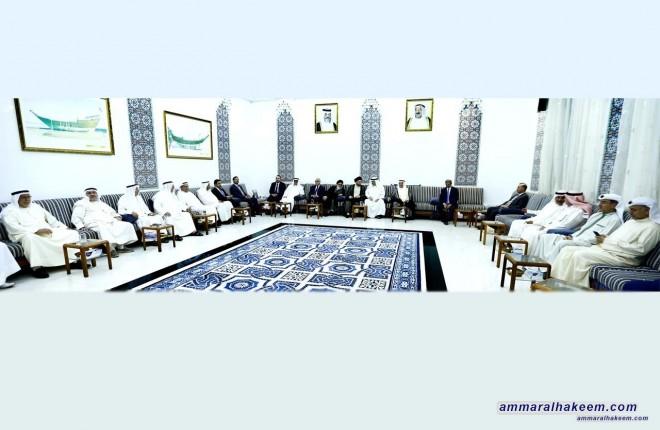 Sayyid Ammar al-Hakim visits Diwans of Dashti, Babtain, Bahman, Hussein Al-Jum'ah, Al-Marafi and Al-Mutawa