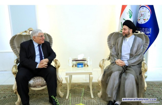 Sayyid Ammar al-Hakim exhorts who participates in the government to shoulder responsibility and not turn to be opposition