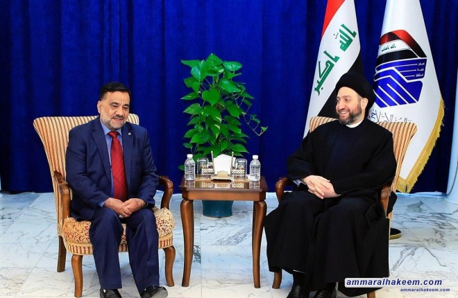 Sayyid Ammar al-Hakim meets Sheikh Asad al-Faily stresses a real representation of the Feyli Kurds