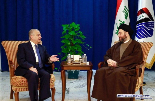 Sayyid Ammar al-Hakim stresses investing victories to strengthen the status of Iraq among the countries of the world