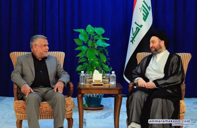 Sayyid Ammar al-Hakim with Amiri to discuss political situation and demands of the demonstrators