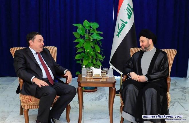 السيد عمار الحكيم يدعو لتلبية مطالب المتظاهرين العادلة وحماية التظاهرات السلمية