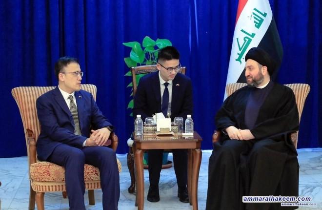 السيد عمار الحكيم : الترشيح الفردي والدوائر المتعددة مطلب للشعب العراقي