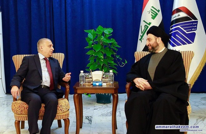 Sayyid Ammar al-Hakim receives Iraqi Foreign Minister Mohammed Ali al-Hakim to discuss latest developments in political situation in Iraq and the region