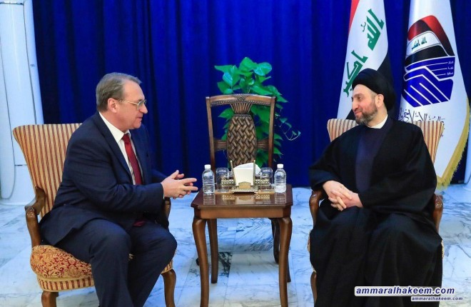 Sayyid Ammar al-Hakim calls to involve Iraq in the tripartite summit on Syria and stresses keeping momentum against terrorism