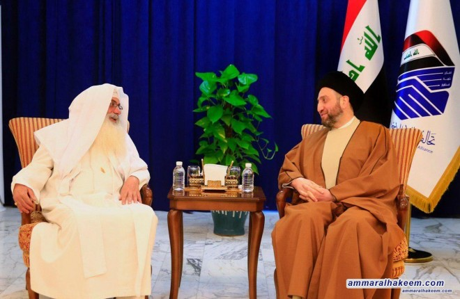 Sayyid Ammar al-Hakim stresses on equal representation of components in the state apparatus