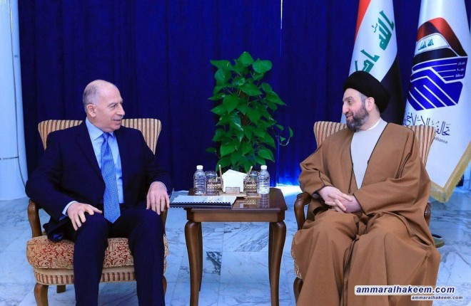 Sayyid Ammar al-Hakim receives Osama al-Nujaifi and reviews future prospects of the Reform and Reconstruction Alliance