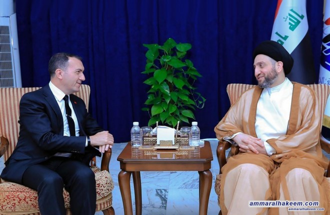 Sayyid Ammar al-Hakim stresses the importance of economic balance in Iraq