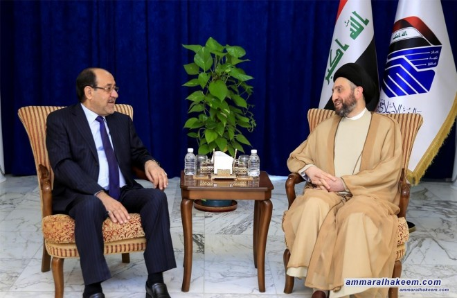Sayyid Ammar al-Hakim renews his call to concede for the sake of Iraq so to complete the ministerial cabinet