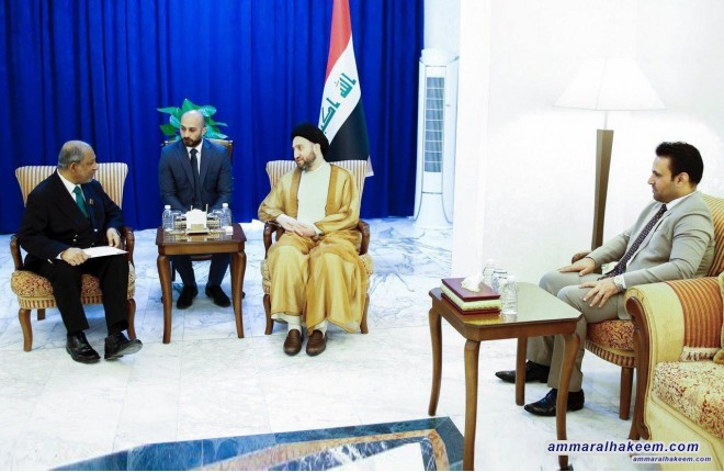 Sayyid Ammar al-Hakim receives ambassador of Sri Lanka to discuss bilateral relations
