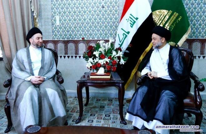 السيد عمار الحكيم : استهداف السيد علاء الموسوي استهداف للدولة ومؤسساتها