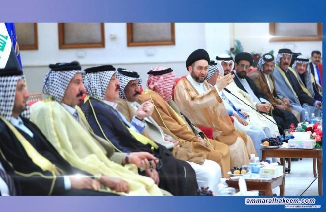 السيد عمار الحكيم : اولويات المعارضة تشكيل حكومة الظل ومراقبة تنفيذ البرنامج الحكومي