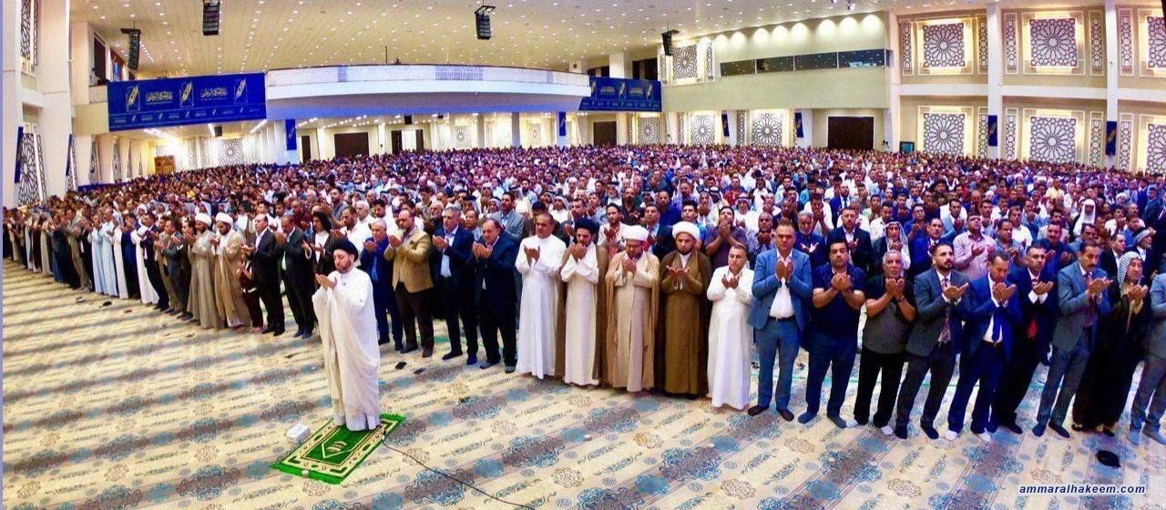 السيد عمار الحكيم : مستهدفو مشروع المعارضة يريدون ابقاء العراق ضعيفا تابعا غارقا في المحاصصة والفوضى والفساد