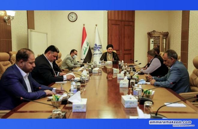 الهيأة القيادية لتحالف عراقيون تعقد اجتماعها الدوري برئاسة السيد عمار الحكيم