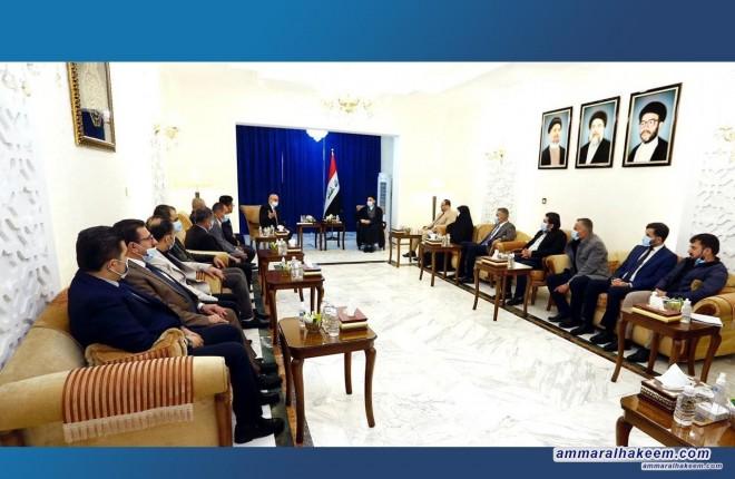 السيد عمار الحكيم يجدد دعمه للمطالب المشروعة لمتظاهري كردستان ورفض العنف بكل اشكاله