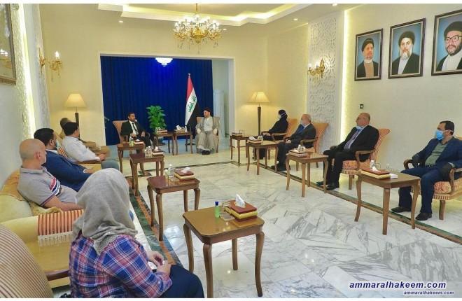 السيد عمار الحكيم يشيد بجهود الأطباء العراقيين في مواجهة فيروس كورونا ويدعو لدعمهم بالتدريب المستمر والسكن الملائم