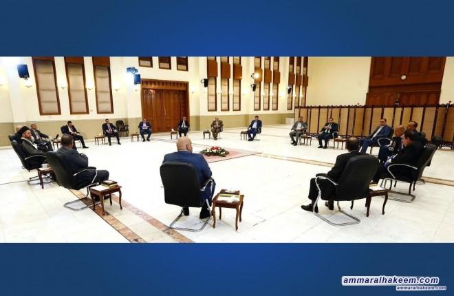 السيد عمار الحكيم لمحافظي العراق .. اللامركزية احد دعائم النظام السياسي ولا بد من الحفاظ عليها