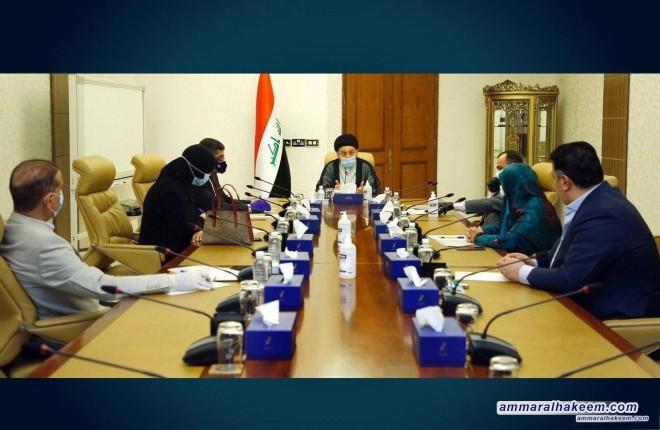 الهيأة القيادية لتحالف عراقيون تعقد اجتماعا دوريا وتناقش الملفات المدرجة على جدول الاعمال