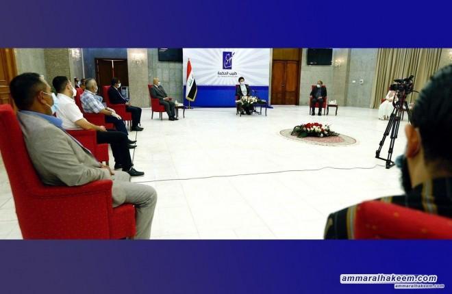 السيد عمار الحكيم يشيد بفريق مبادرة طبيب الحكمة في مواجهة ازمة كورونا