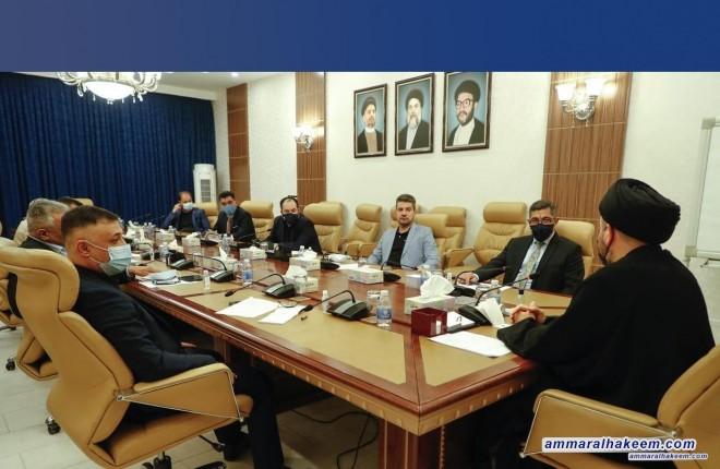 الهيأة السياسية لتحالف عراقيون تعقد اجتماعها الدوري وتناقش المواد المدرجة على جدول الاعمال