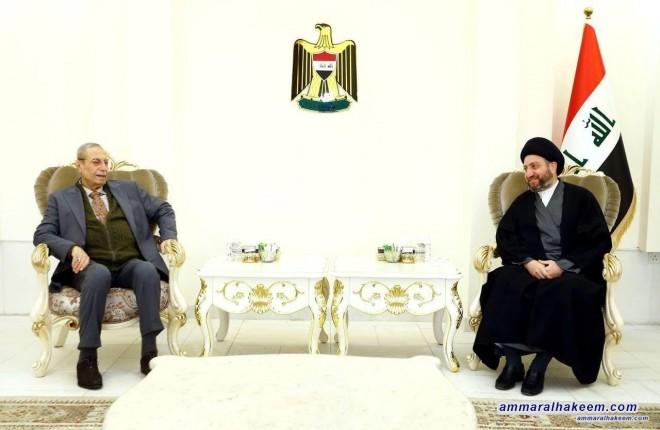 السيد عمار الحكيم يبحث مع وفد الحزب الديمقراطي الكردستاني تطورات المشهد السياسي والعلاقة بين بغداد واربيل