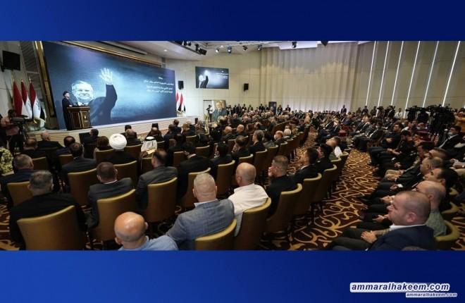 السيد عمار الحكيم يدعو لاستحضار المنهج الوطني للرئيس الراحل مام جلال