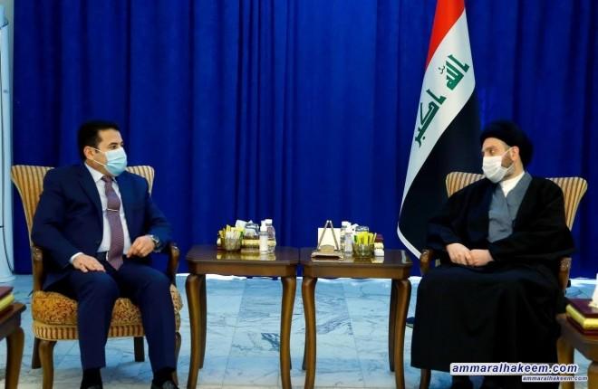 السيد عمار الحكيم يشدد على التنسيق الامني بين المؤسسات وادامة العمليات الاستباقية في مواجهة الارهاب