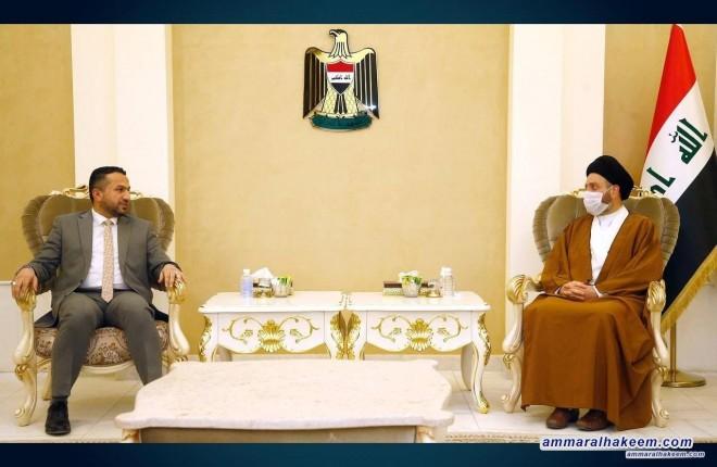 السيد عمار الحكيم يستقبل مجلس امناء شبكة الاعلام العراقي ويدعو للتركيز على الهوية الوطنية وايجاد نافذة اعلامية عراقية للمتلقي العربي