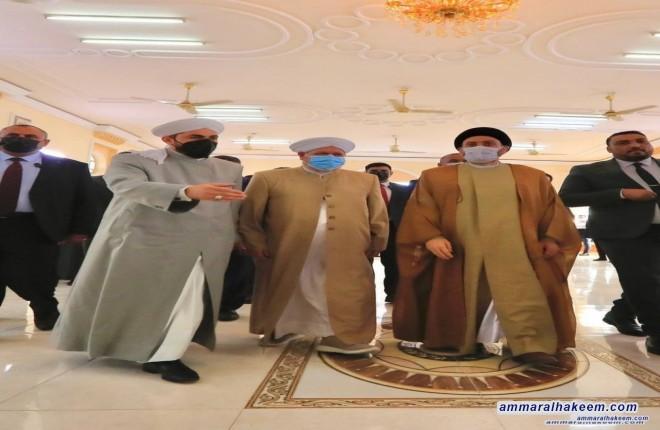 جولة مصورة لزيارة سماحة السيد عمار الحكيم محافظة الانبار