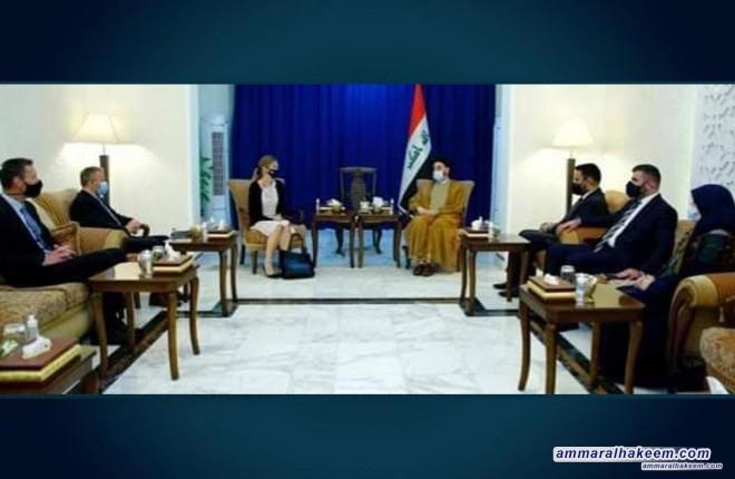 Sayyid Ammar Al-Hakeem Discusses With Norwegian Ambassador Bilateral Relations, Iraq's regional Roles