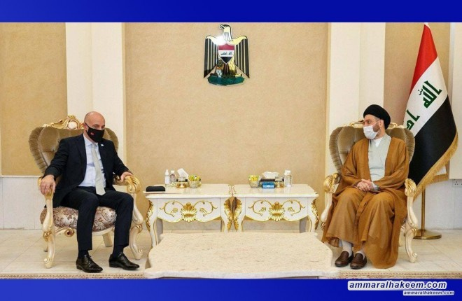 السيد عمار الحكيم يبحث مع السفير التركي العلاقات الثنائية بما يحفظ مصالح البدين وسيادتهما