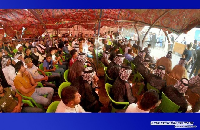 Sayyid Ammar Al-Hakeem visits Ogeil tribe, stresses need for country's move from instability to stability
