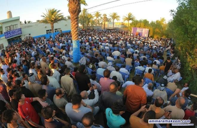 جولة مصورة لزيارة سماحة السيد عمار الحكيم محافظة واسط