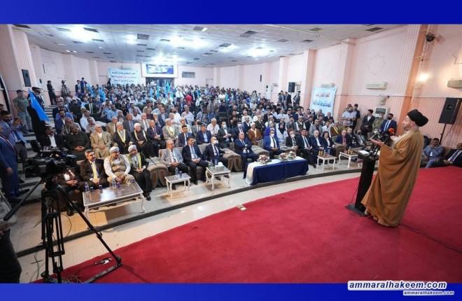 السيد عمار الحكيم يدعو لانصاف التركمان ومنحهم منصب نائب رئيس الجمهورية