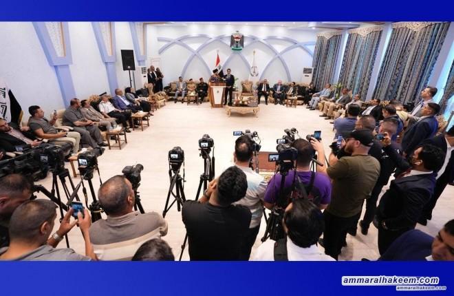 خلال زيارته لنينوى.. السيد عمار الحكيم يلتقي مدراء الدوائر الخدمية والامنية في المحافظة