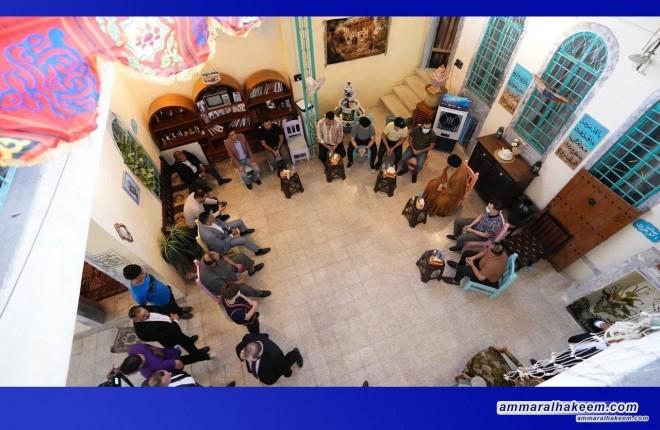"Sayyid Ammar Al-Hakeem visits ""Baituna"" Mosul Foundation, confirms youth's ability to change"