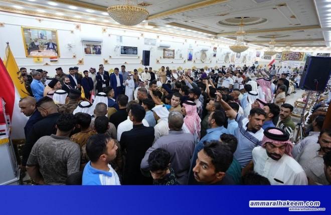خلال زيارته نينوى .. السيد عمار الحكيم: حفظ العراق يكون بحفظ مكوناته وقوة العراق بقوة مكوناته